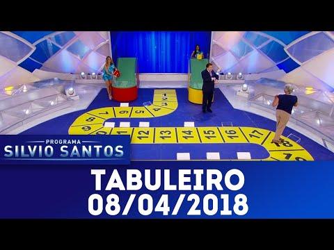 Tabuleiro - Completo | Programa Silvio Santos (08/04/18)