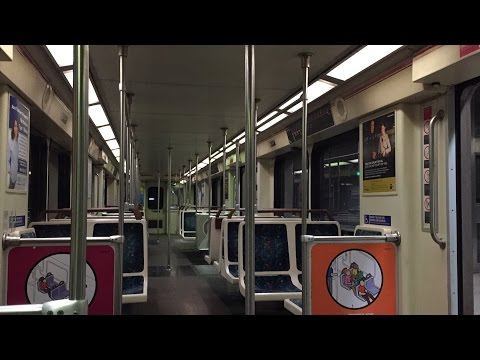 LA Metro Rail HD 60fps: Riding AnsaldoBreda A650 on Red Line Union Station to North Hollywood
