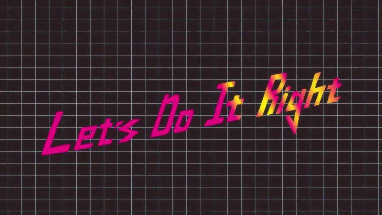 The Young Professionals -- Let's Do It Right ft. Eva Simons (Lyric Video)