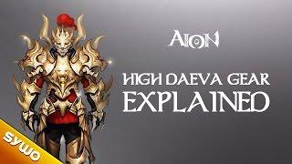 AION 5.0 - The new High-Daeva armor explained