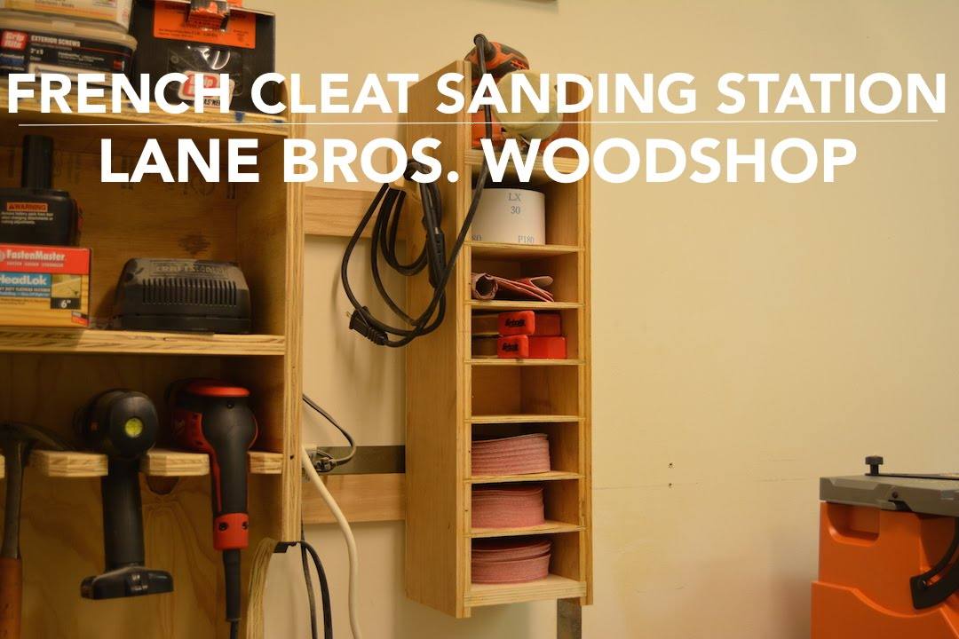 French Cleat Sand Paper Cabinet  YouTube