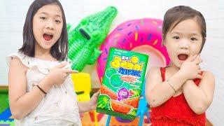Kiều Anh Giả Vờ Ốm Để Nghỉ Học Kẹo Big babol Dưa Hấu - Trang Vlog
