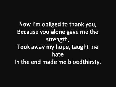 Eisregen - Blutgeil [English Translation]