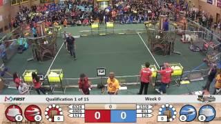 Week 0 Scrimmage - Quals - First match