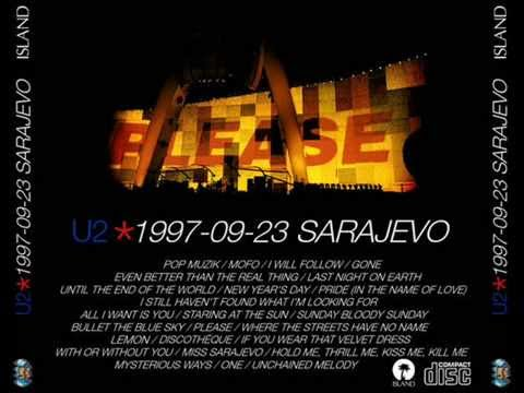 11 Lemon (Perfecto Mix) - Discothèque - If You Wear - With Or Without You (U2 In Sarajevo)