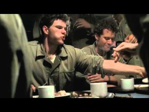 The Pacific: Leckie & Company's Meal Before Deployment to Guadalcanal