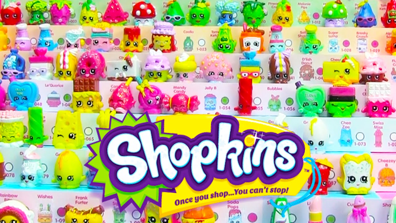 30 Shopkins Season 1 2nd Full Case Unboxing 60 Shopkins Blind Bags 7 Ultra Rares Youtube