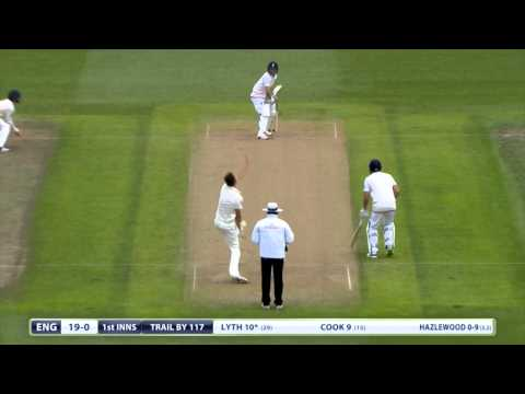 Ashes highlights - England bowl Australia out for 136 at Edgbaston