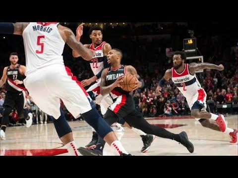 Morris 6 Threes! Dominates in OT vs Blazers! 2018-19 NBA Season