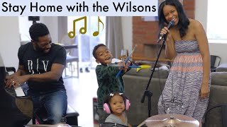 Stay Home and sing with the Wilsons | Wilson World