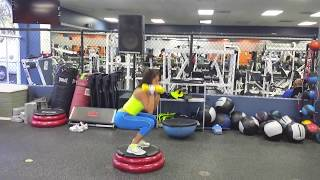 andrea calle lower body routine