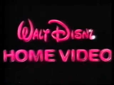 Sigla VHS Disney anni 90