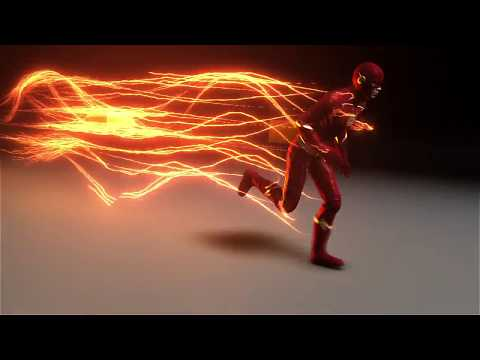CW The Flash Lightning Method V6 & 3D Model Showcase