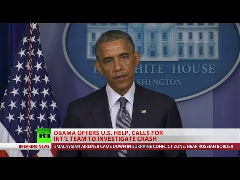 US confident surface-to-air missile shot down MH17