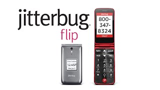 Jitterbug Flip - Simple, Affordable Cell Phones for Seniors