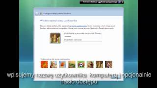 Instalacja Windows Vista Home Premium