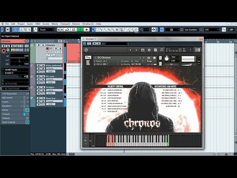 Chronos [Free Bass Library for Kontakt 5] - Instrument presentation