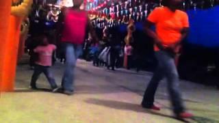 La Danza en Las Flores el 3 de Julio del 2015