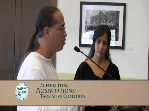 Taos County Commissioners, Regular Meeting, Dec. 2, 2014