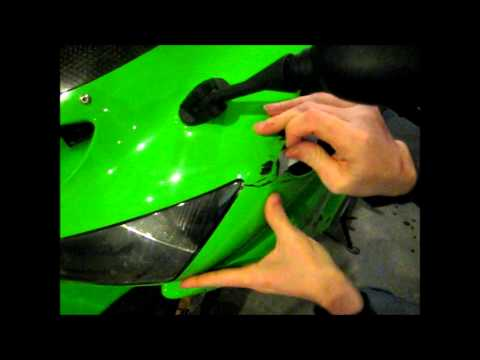 How to Fix a Motorcycle Fairing for less than $10