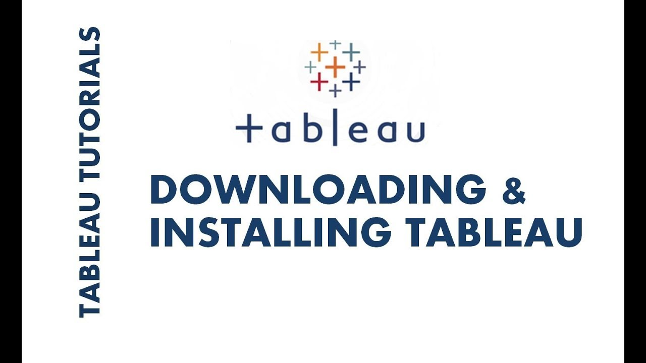Tableau Tutorial 1 | How to Download and Install Tableau Desktop