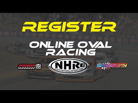 Registering At Online Oval Racing