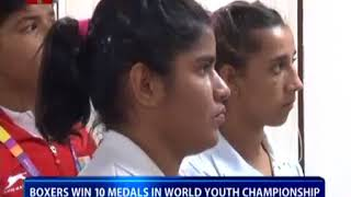 Youth boxers meet Sports Minister   YouTube 360p