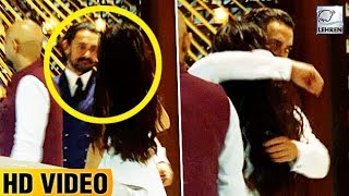Aamir Khan HUGS Fatima Sana Shaikh Publicly At Nita Ambani's Party | LehrenTV