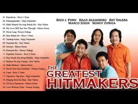 Rico J. Puno, Rey Valera, Marco Sison, Hajji Alejandro Greatest Hits : OPM Tagalog Love Songs Ever