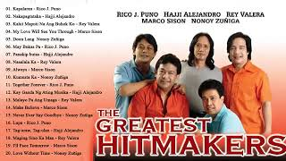 Rico J. Puno, Rey Valera, Marco Sison, Hajji Alejandro Greatest Hits : OPM Tagalog Love Songs Ever