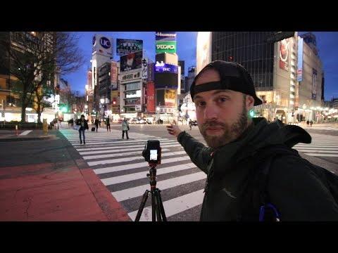 Photography At Shibuya Crossing & Sushi In Shinjuku