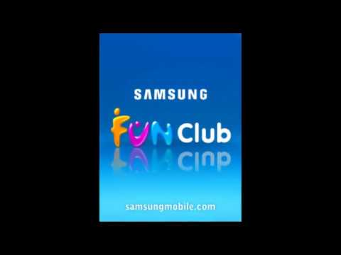 Samsung Fun Club Boot Animation (2005-2006) With Samsung E250 Startup & Shutdown Tone