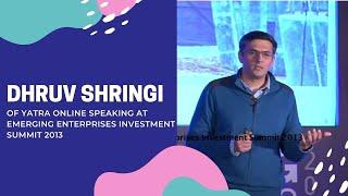 Dhruv Shringi of Yatra Online speaking