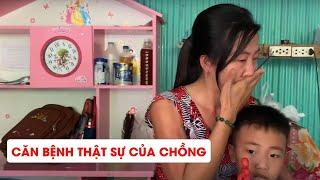 Đến nhà em Đảo trao tiền hỗ trợ từ MTQ - Người vợ trẻ không cầm được nước mắt khi biết bệnh chồng!