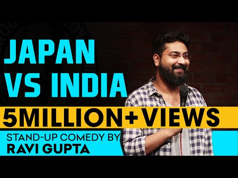 Japan Vs India | Stand-up Comedy by Ravi Gupta