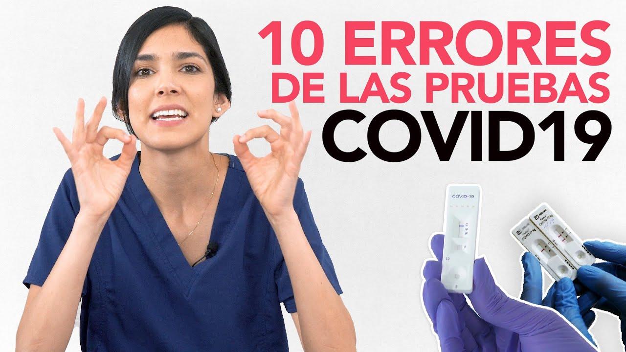 Te explico todas las pruebas COVID19 en 5 minutos   Dra. Jackie - Salud en Corto
