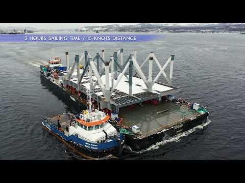 ARCTIC LNG-2: CONSTRUCTION OF THE WORLD'S LARGEST FLOATABLE REINFORCED CONCRETE PLATFORMS CONTINUES
