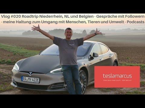 Vlog #020 Roadtrip Niederrhein, NL, B - Meeting Follower - Umgang mit Menschen, Tieren und Umwelt 4K