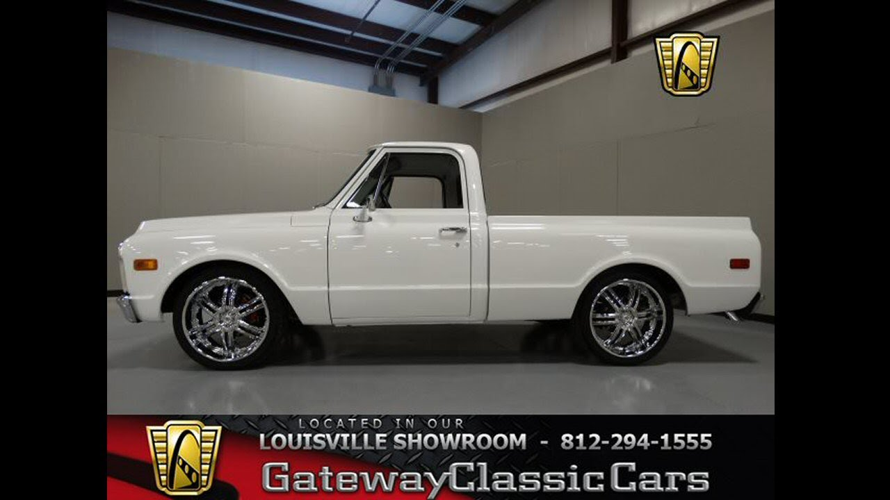 Truck 71 chevy truck parts : 1971 Chevrolet C10 Pickup Truck Stock #756 located in our ...