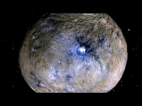 Dwarf planet Ceres hosts cryovolcano