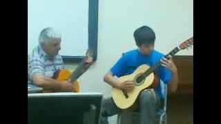 Toccata Paul Mauriat. Классно играют на гитаре! Смотреть всем!!!