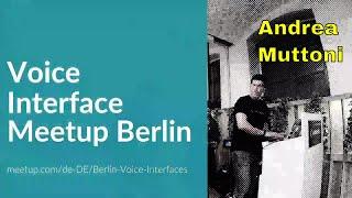 "Andrea muttoni - technology evangelist amazon alexa""best practices from the most engaging alexa skills.""https://www.meetup.com/de-de/berlin-voice-interface..."