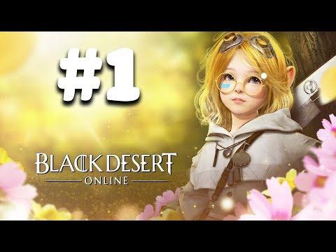 Black Desert Online - Cùng chơi game nhập vai siêu đẹp #1