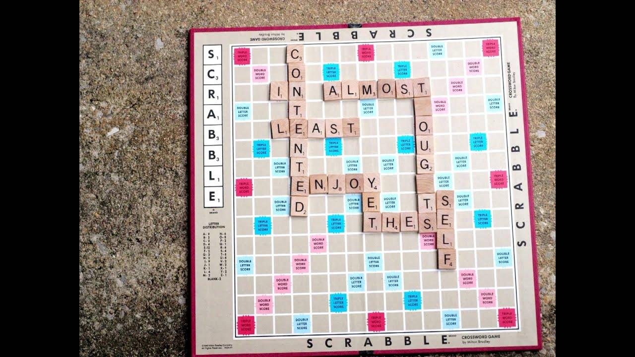 William Shakespeare Sonnet 29 StopMotion Scrabbleboard – Scrabble Baby Announcement