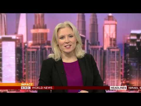 Impact from Studio C on BBC World News with Lucy Grey