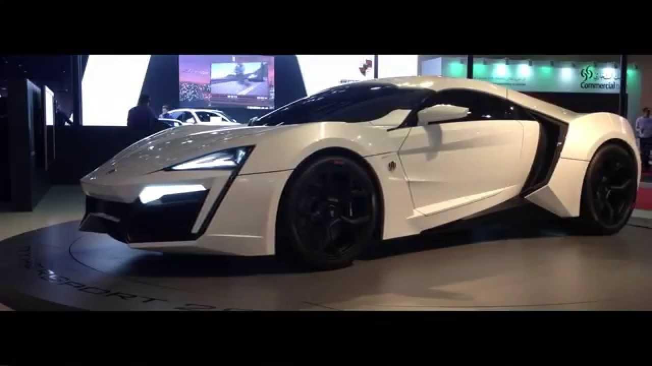 First Arabian Hypercar Lykan Hypersport Youtube
