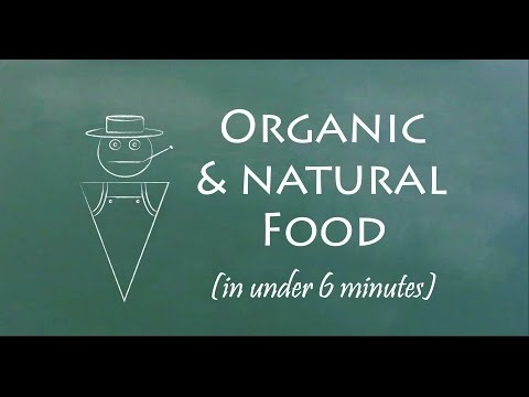 Understand Organic vs. Natural Food in 6 Minutes