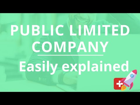 Public Limited Company - easily explained