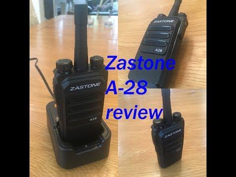 Zastone A-28 UHF Radio Review