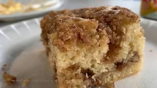 Brown Sugar Pecan Crumb Coffee Cake